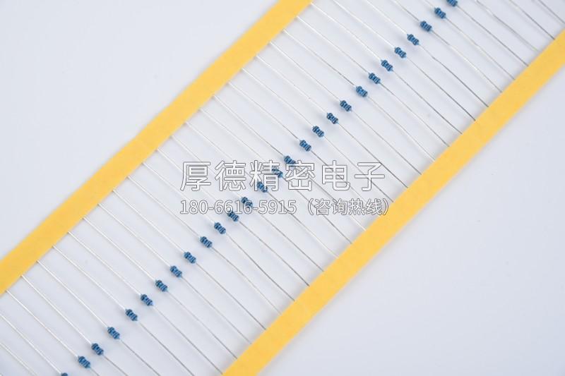 碳膜固定电阻器