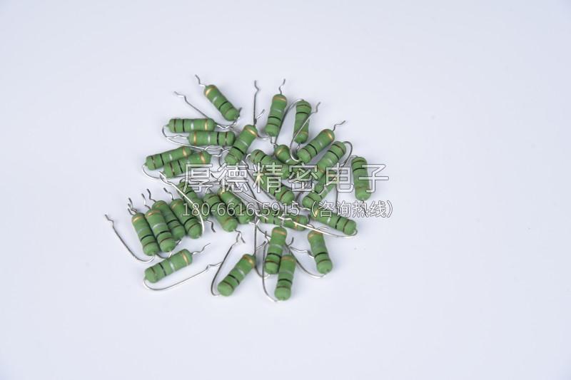 立式成型编带电阻器